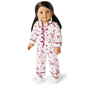 Warm Wishes Pajamas for 18-inch Dolls-Image