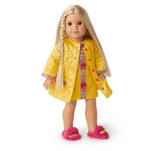 Julie's Pajamas & Robe for 18-inch Dolls-Image
