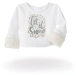 Let It Snow Winter Top for 18-inch Dolls-Image