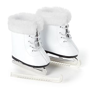 Snow Graceful Ice Skates for 18-inch Dolls-Image