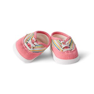 18 Inch Doll Clothes Versatile Canvas Doll Sneakers Basics Value 3-pack,