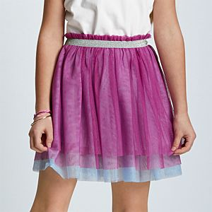 GNG96_Colorful_Ruffles_Tiered_Skirt_for_Girls_01