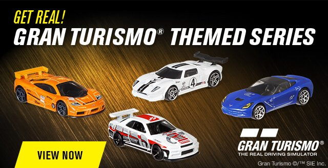 Gran Turismo® Comes to Life With Themed Hot Wheels Series