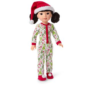 HBY45_Hearts_Pines_Holiday_PJs_for_Welliewishers_Dolls_01