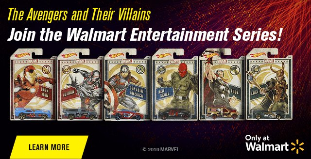 The Avengers and Their Villains Join the Walmart Entertainment Series!