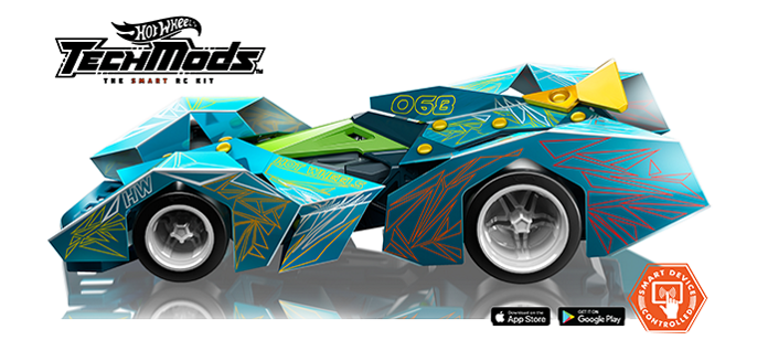 Hot Wheels TechMods Accelo GT | Indiegogo