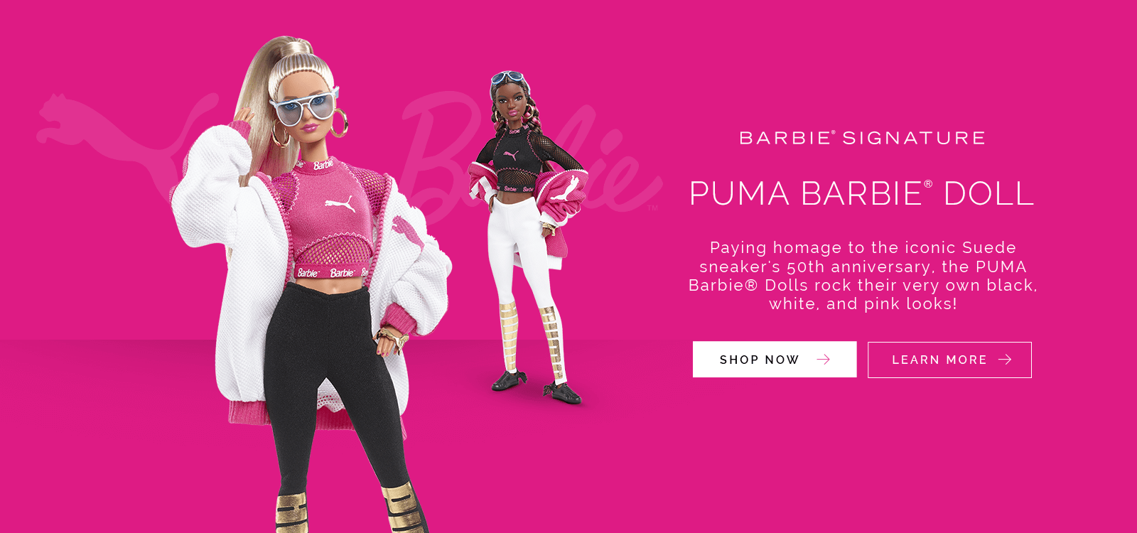 PUMA Barbie Dolls