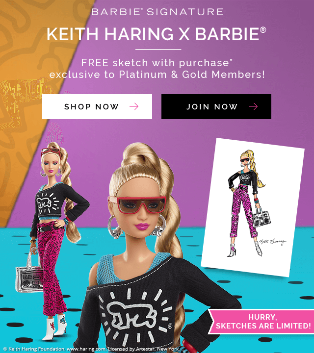 Keith Haring X Barbie