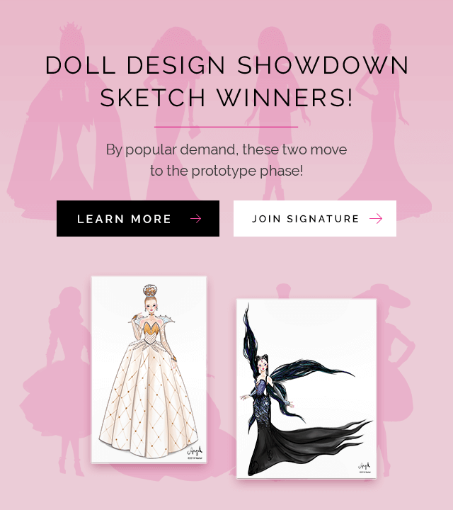 Barbie Signature Doll Design Showdown Winner