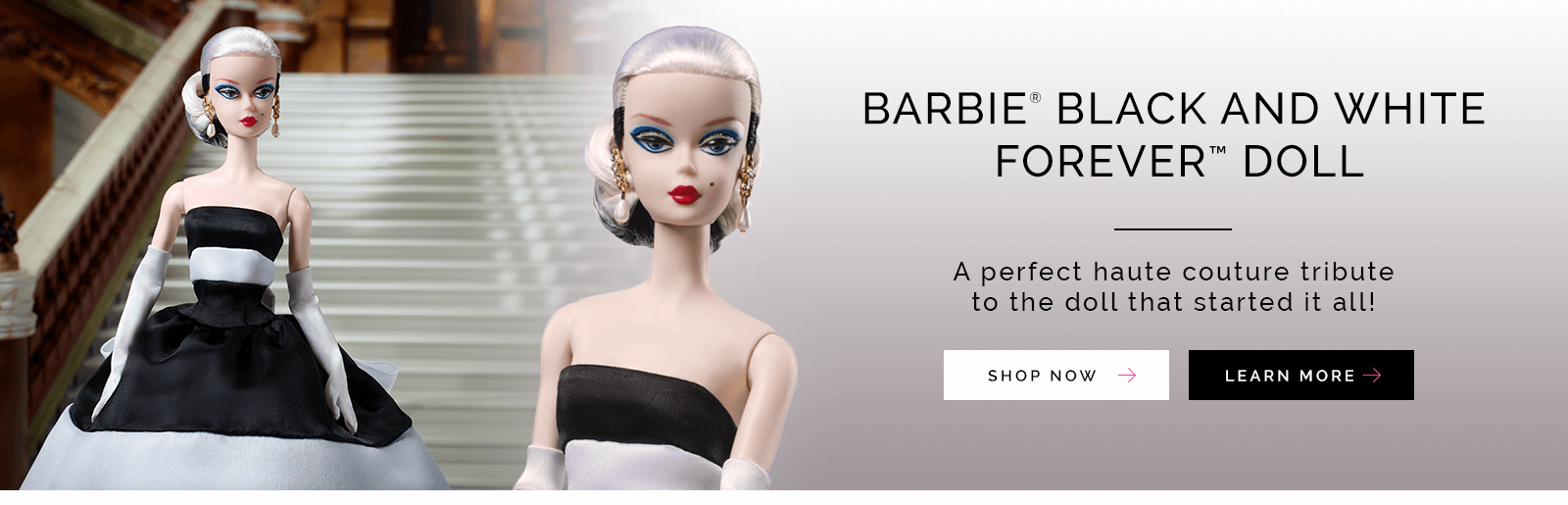Barbie  Black and White Forever Doll