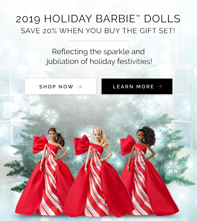 2019 Holiday Barbie