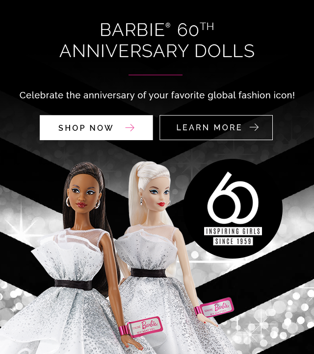 Barbie 60th Anninversary