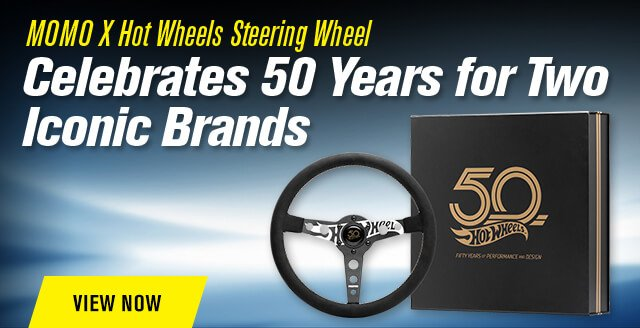 MOMO X Hot Wheels Steering Wheel Celebrates 50 Years for Two Iconic Brands