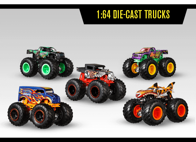 1:64 Die Cast Trucks