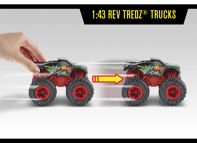 1:43 Rev Tredz® Trucks