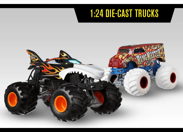 1:24 Die Cast Trucks