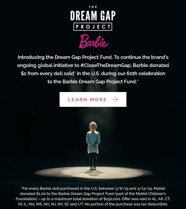 The Barbie Dream Gap Project