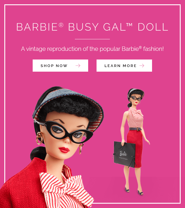 Barbie Busy Gal Doll