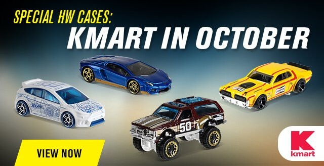Special HW Cases: Kmart Collector Day and Kmart.com