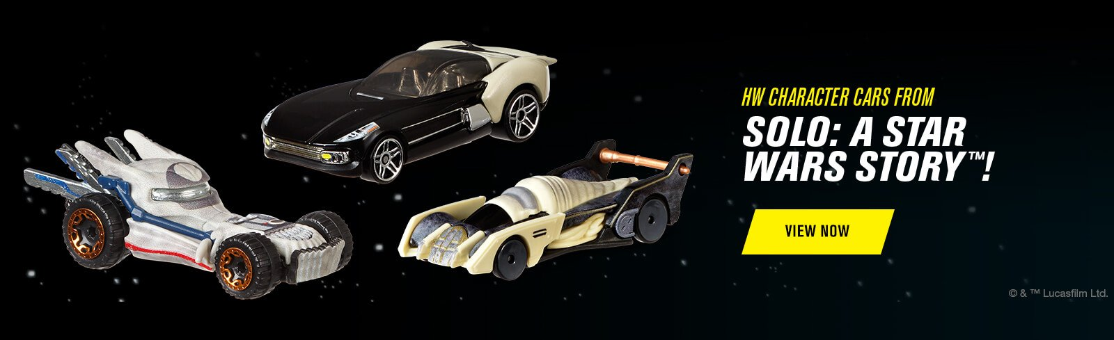 HW Character Cars From Solo: A Star Wars Story!