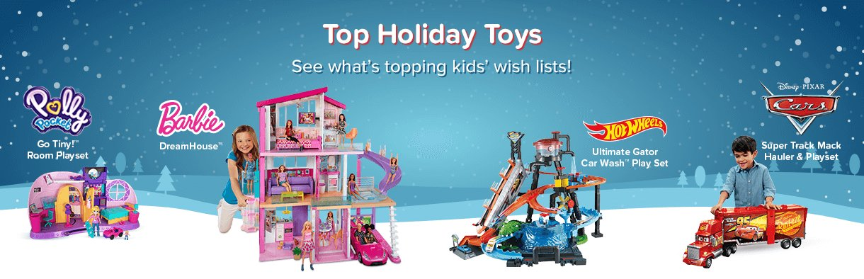 Top Holiday Toys