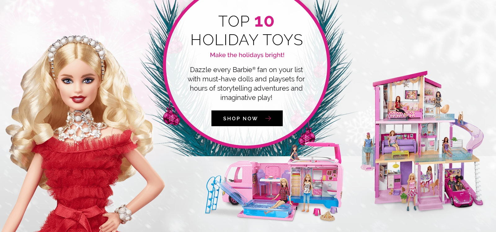 Barbie Holiday Toys