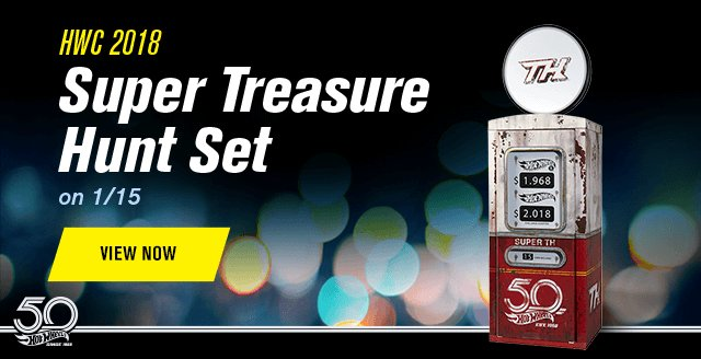 HWC 2018 Super Treasure Hunt Set on 1/15