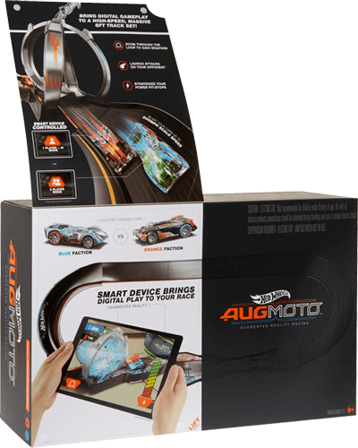 Hot Wheels Augmoto Augmented Reality Racing Track Set Fwk44 Hot Wheels